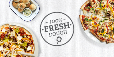The Peartree Bridge Inn Stonebaked Pizzas | Freshly made dough