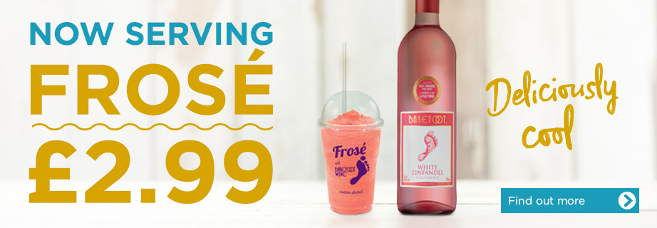 Frose available at Stonehouse