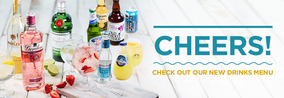 View our new drinks menu