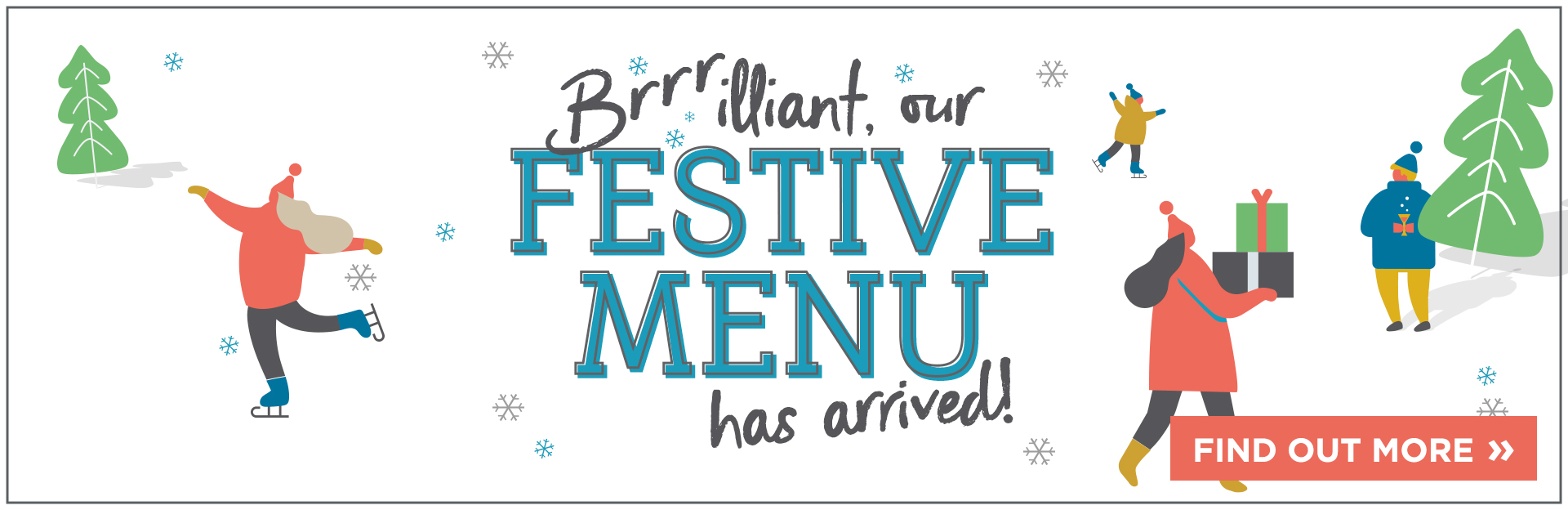 Festive Menu at The Tramway