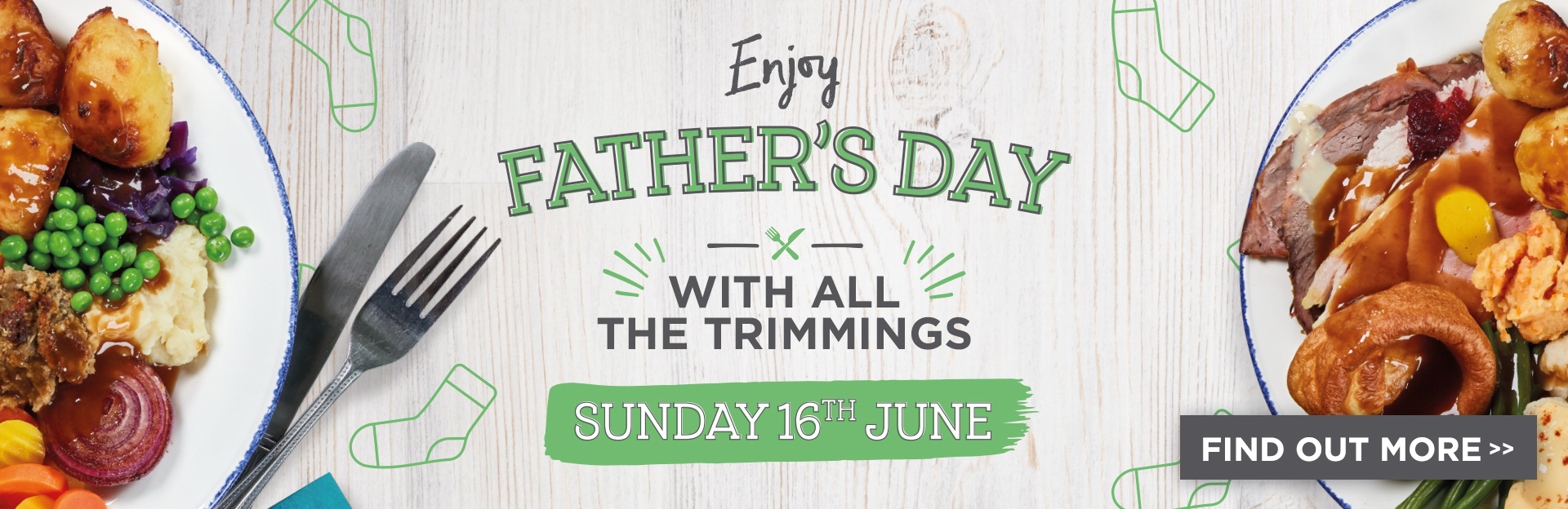 Father's Day at De Rodes Arms