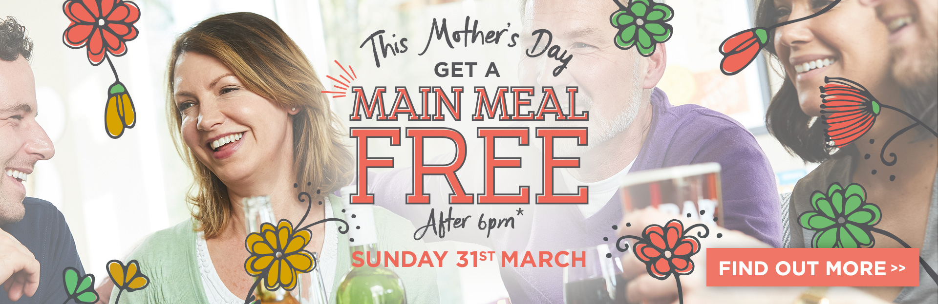 Mother's Day at The Masons Arms