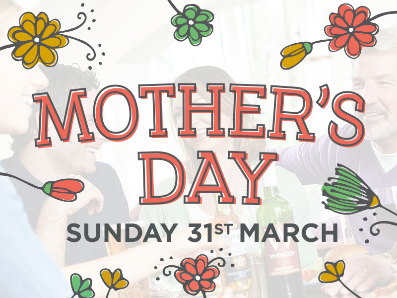 Mother's Day at The Hollybush