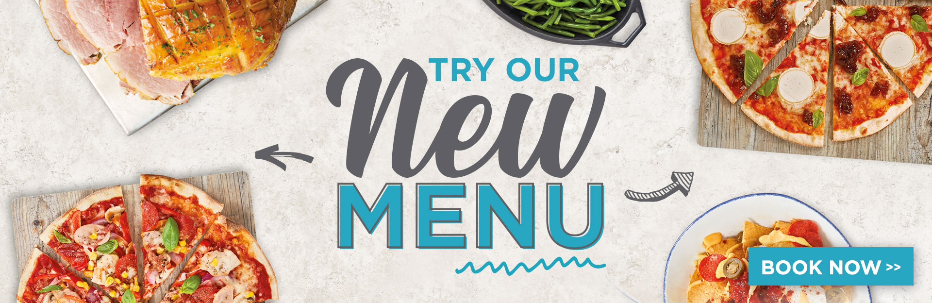 New menu at The Tramway