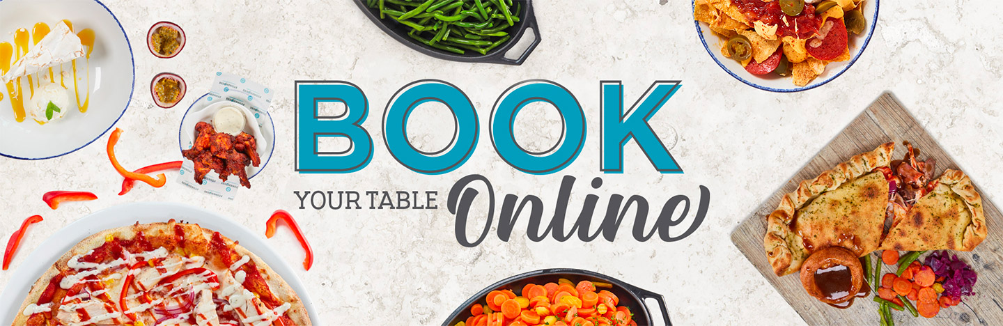 Bookings at The Britannia Inn - Now taking online Table Bookings