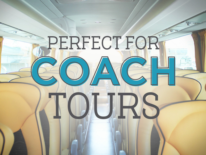 A cracking stop for coach tours