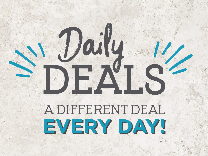 Daily deals at Stonehouse Pizza & Carvery
