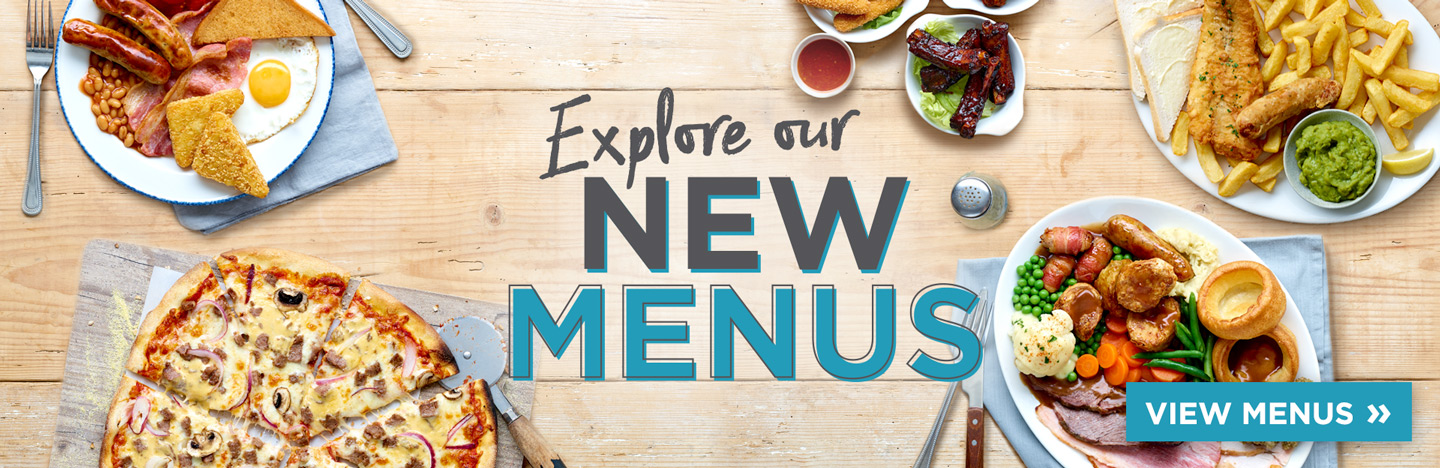 New menu at The Britannia Inn