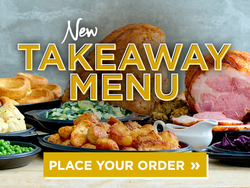 Takeaway Menu at The Waters Edge