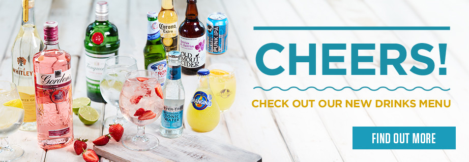 New drinks menu at The Waters Edge
