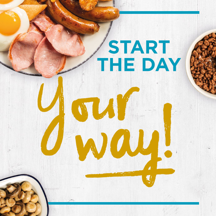 Fuel-up with unlimited breakfast