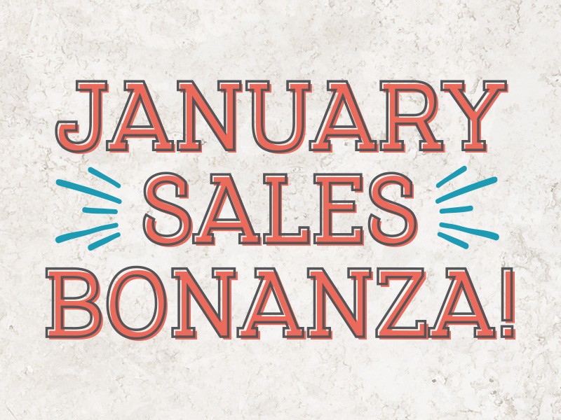 January Sale at The Bells of St Marys