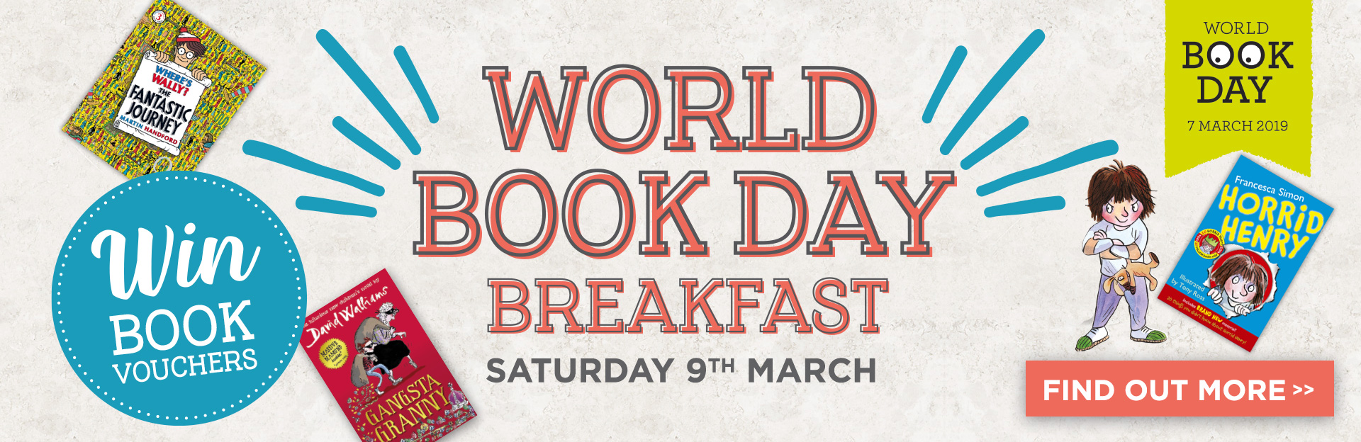 World Book Day at The Red Lion