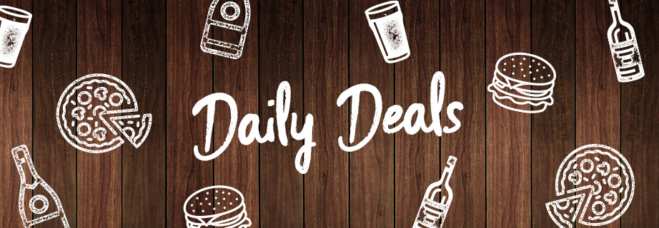 Daily Deals at Stonehouse