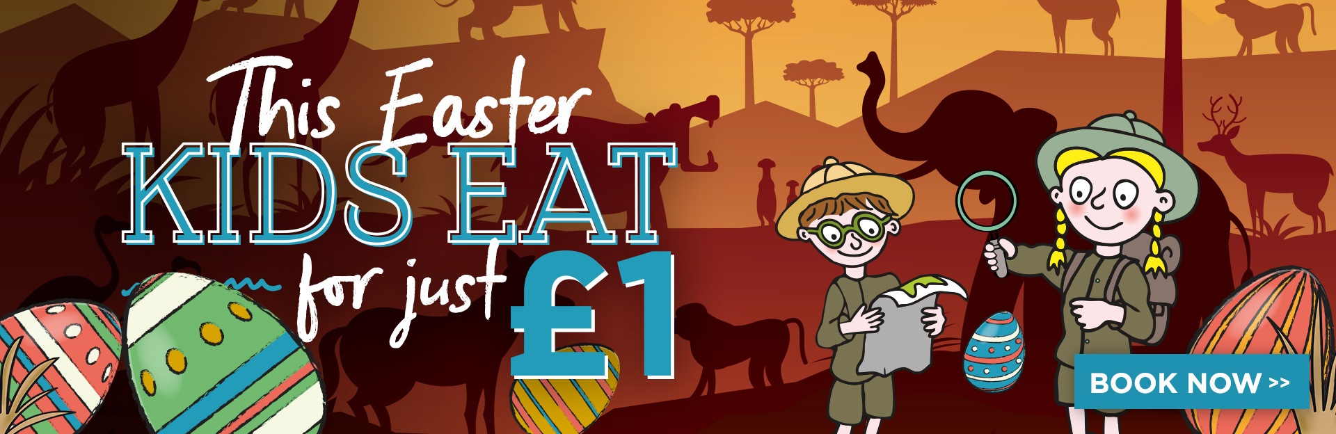 Kids eat for £1 at The Beach Arms
