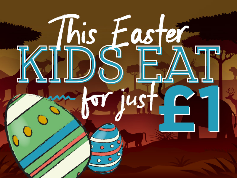 Kids Eat for £1 at The Pretty Pigs