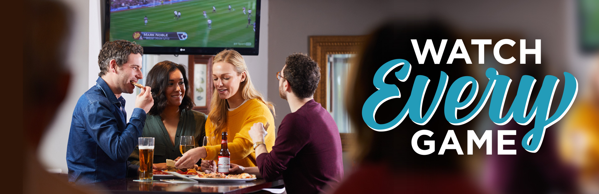 Watch Sport at The Radford Bank Inn