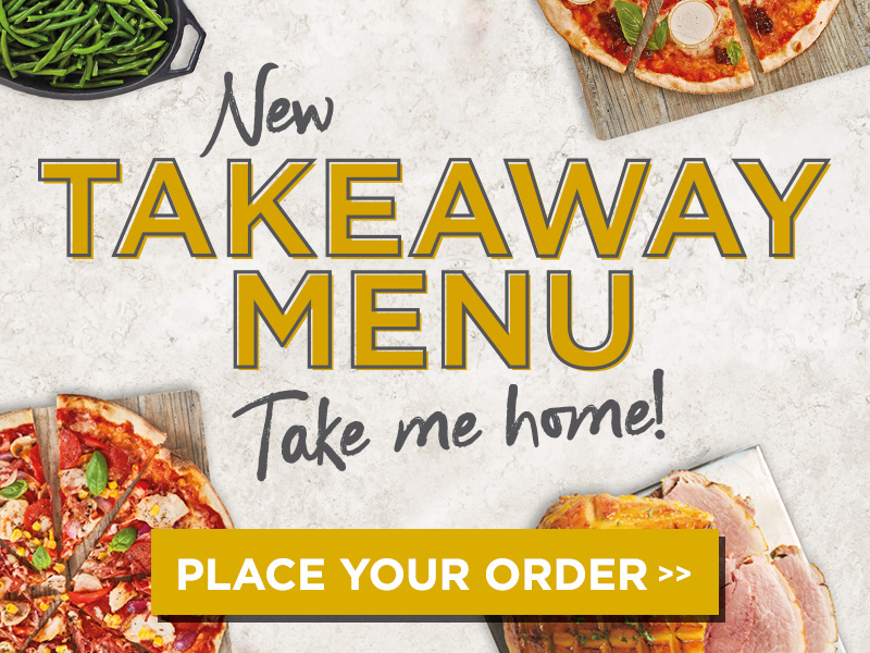 Takeaway Menu at The Old White Horse